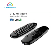Mini Wireless Keyboard C120 2.4GHz Air Mouse English Remote Control For Android TV Box ios windows Linux mini Pc C120