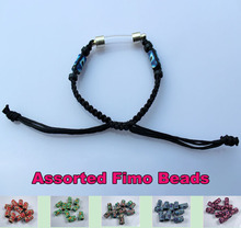 Curve Tube(Premade Woven Cotton Bracelets)  rice writing necklace pendants Twilight Jewelry Glass vials pendants