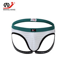 Buy Sexy Jockstrap Gay Men Underwear Mens Crotchless Low Thongs G Strings Tanga Hombre String Homme Erotic Underwear Penis