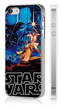vcustom 2017 New 1PC star wars Luxury Leather Surface Plating Frame Case Cover For Iphone 5 5S Mobile Phone Cases