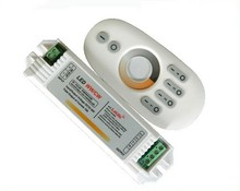 1X High quality 4 Zone 2.4G WW+CW adjustment color temperature controller free shipping