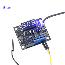 DC 12V W1209 Blue Digital Cool/Heat Temp Thermostat Thermometer Temperature Controller On/Off Switch -50-110C
