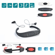 Evary 8GB IPX8 Waterproof Sports MP3 Player, Underwater Music Player with Shuffle, FM Radio for Swimming, Surfing, Marine Sport