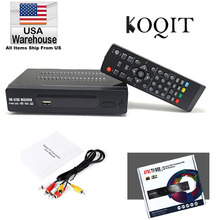 USA 1080P HDMI ATSC TV BOX DIGITAL TERRESTRIAL (Digital/Analog) CONVERTOR RECEIVER HDTV NTIA Cert Without ANTENNA