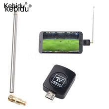 Kebidu Mini Micro USB DVB-T tuner TV receiver Dongle/Antenna DVB T HD Digital Mobile TV HDTV Satellite Receiver for Android(China)