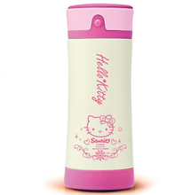 Retail Fashion Cute Cartoon Hello Kitty Stainless Steel Children's 6~12Hours Outdoor Vacuum Flask Water Bottles