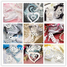 Wedding favor bookmark mixed order weeding gift bookmarks favors 10 different styles