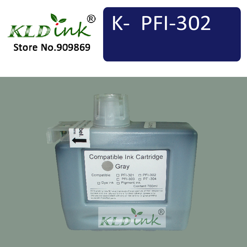 KLDINK - Compatible Ink Cartridge Replacement for PFI-306GY ( PFI-304 ) for imagePROGRAF iPF8300, iPF8400, iPF9400 printers<br><br>Aliexpress