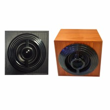 1 Pc New Wood Speaker USB2.0 Household Mini Stereo Subwoofer for Desktop Laptop Notebook PC Computer Portable Speakers