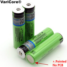 VariCore New Original 18650 rechargeable battery 3.7V Li ion bateria 18650 ncr18650b 18650 battery for Panasonic flashlight(China)