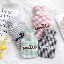 2017 Trellis Design Winter New Hot Water Bottles Cute Creative Hot Water Bag Hand Warm Comfortable Bottle Water-Filling JJ245(China)