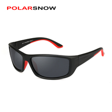 POLARSNOW Polarized Sunglasses For Men Flexible TR90 Frame Sports Goggles Male Sun Glasses 2017 High Quality P8861(China)