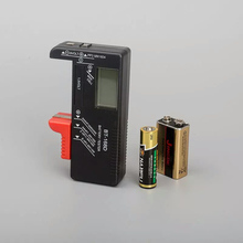 Digital display battery voltage detector/Dry cell battery tester:Button 1 ,2 ,5,7, 9 v battery     lzx