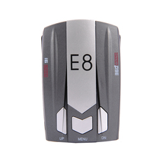E8 Car Laser Radar Detector 360 Degree Speed Control Road Safety Warner Alarm Security System English/Russian Warning