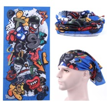 Bike riding motorcycles scarf magic scarf headscarves veil headdress, multi-function skiing magic scarf adornment headscarves(China)