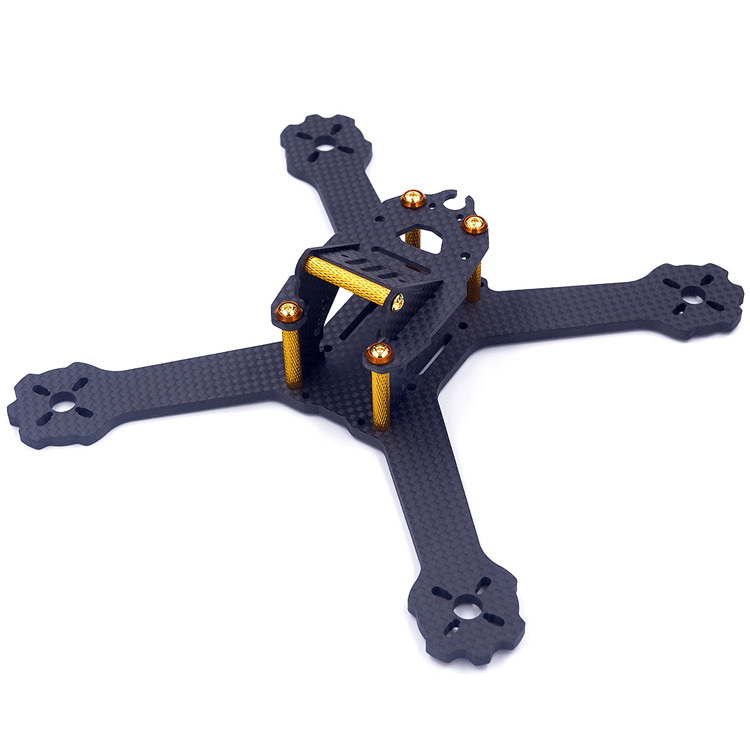 DIY mini drone FPV QAV-X HK-X4/X5 GTR 4/5 175mm/200mm cross racing quadcopter QAV-R pure carbon fiber frame for Gifts 5045 V2<br>