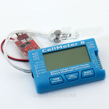AOK Cell Meter 8 Multifunctional Digital Power Servo Checker Tester 2S-8S  50w discharge