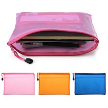 3 COLOR Document Bag A5 Zipper File Pocket Storage Organizer Office School Waterproof  Strong Durable