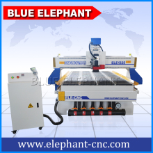 CNC Wood Router Acrylic Plywood CNC Routing Machine 1325 3KW Air Cooling With DSP Vaccum Table Dust Collector