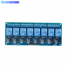 5V 8-Channel Relay Module Board for Arduino Optocoupler 8 Channel Relay Smart Home Switch Max 10A AC250V/DC30V