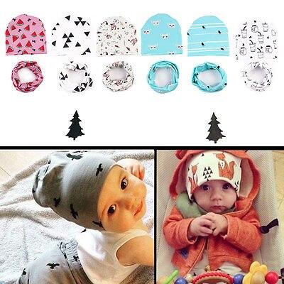 2pcs Baby set Cute Cartoon Unisex Baby Soft Cotton Hat Scarf Set Winter Warm Boys Kids Scarves CapsÎäåæäà è àêñåññóàðû<br><br><br>Aliexpress