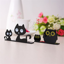 Fashion Cute Lovely Creative Cat Owl Decoration Ornaments Home Desktop Computer TV Jewelry Home Decoration Ornaments