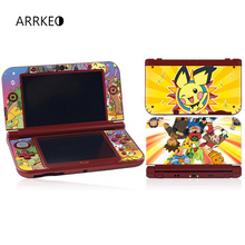 ARRKEO Pokemon Pikachu Vinyl Cover Decal Skin Sticker for Nintendo New 3DS XL & New 3DS LL Console Skins