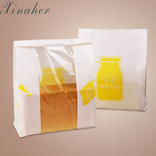 XINAHER Reusable Toaster Bag Non Stick Bread Bag Sandwich Bags PTFE Coated Fiberglass Toast Microwave Heating Pastry Tools(China)