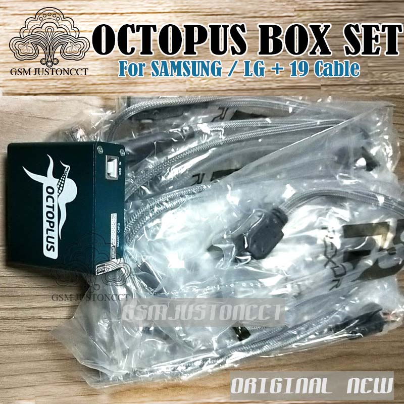 OCTOPUS Box FOR SAM + LG 19 cable - gsmjustoncct 4