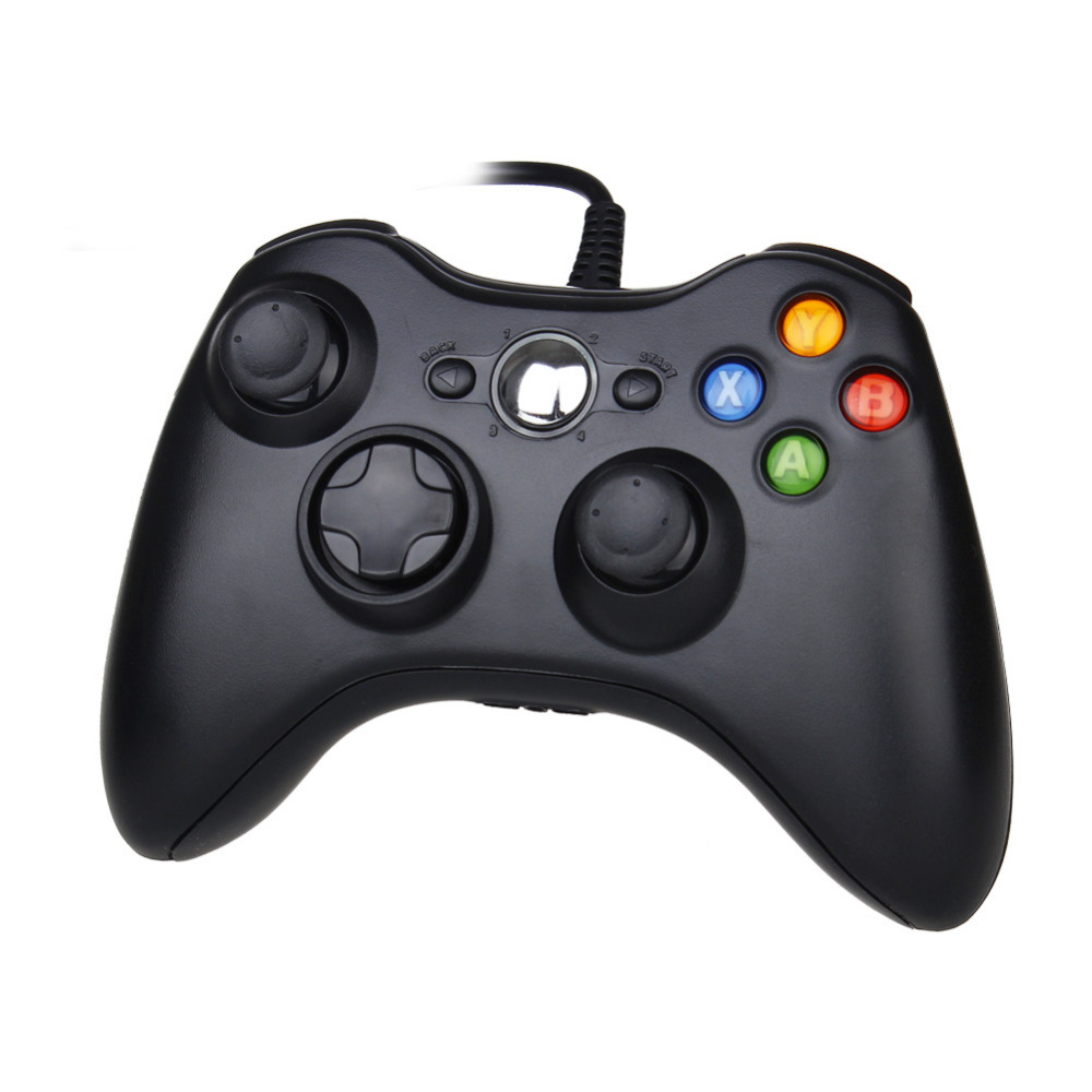 New 100% For xbox Controller USB Wired Controller Joypad Joystick For Microsoft for Xbox 360 PC Game Replacement Backup Gamepad(China (Mainland))