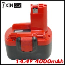 14.4V 4000mAh Li-ion Replacement Battery For BOSCH BAT038 BAT040 BAT041 BAT140 BAT159 PSR1440 ART 26 Power Tool Rechargeable