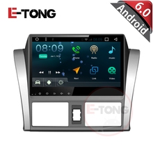 "10.1"" Quad core Android 4.4.4  Car Audio Radio Stereo Head Unit for Toyota Vios/Yaris 2014 Rom 16 G 1024 * 600 support WIFI 3"