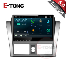 "10.1"" Quad core Android 4.4.4 Car Audio Radio Stereo Head Unit for Toyota Vios/Yaris 2014 Rom 16 G 1024 * 600 support WIFI 3(China)"
