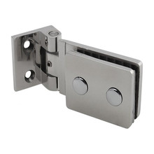 Top Quality 90 Degrees Stainless Steel 304 Wall Mount Glass Shower Door Hinge