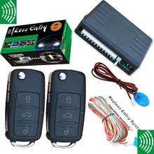 NEW keyless entry with OEM VW flip key remotes auto window up output remote remote lock and unlock ,remote trunk open(China)