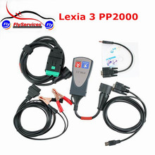 Full Set Diagnostic Scanner Tool PSA Lexia3 PP2000 Support Multi-language For Citroen For Peugeot Fast Shipping Lexia 3/PP2000