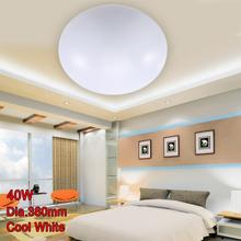 LED Ceiling Lights Dia 380mm Acrylic Bright Cool White 40W Modern Fixture LED Lamp Livingroom Kitchen Bedroom Balcony Light A391