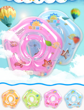 2017 New Baby Inflatable Swim Ring Child Gear Swimming Pool & Accessories swimming Swim Neck Ring Safety Infantfloat Circle