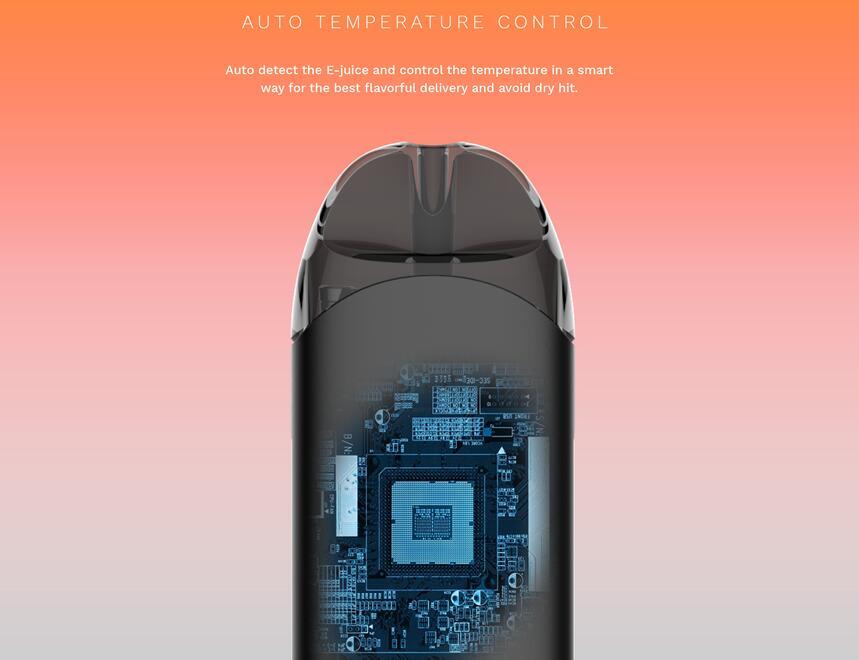 Original Vaporesso Renova Zero Pod Electronic Cigarette Kit 650mAh Built-in Battery & 2ml Tank CCELL Coil All In One Vape Kit (7)