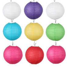 1pcs / new fashion 20CM Festival Lantern wedding party props Decoration Christmas Halloween paper lanterns free shipping