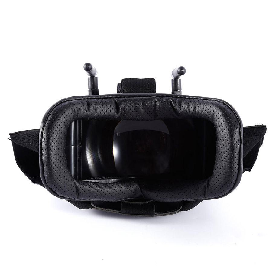 FPV Goggles RC009 4.3″ 480×272 5.8G 40CH Raceband Auto-Searching Without Battery Better than VR007 EV800 for RC Racing Drones