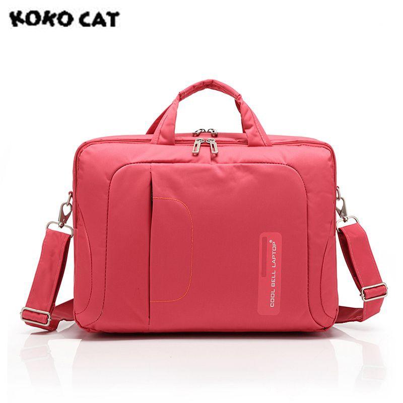 2017 KOKOCAT Fashion 15.6 inch Notebook Laptop Handbag for Men  Women Briefcase Messenger Lady Solid Bags 3 Color CB-015<br>