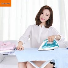 Buy 180ML Steam Iron Clothes Irons Ironing Stainless Steel Clothes Steamer Anti-calc Mini Clothes Ironing YD18A07J-12 purple for $19.80 in AliExpress store