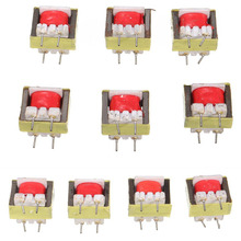 10pcs EI14 Audio Transformer Transformateur Audio 1300 : 8 Ohm POS Transformador Audio Transformer Ringing(China)
