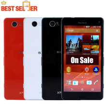 Original Unlocked Sony Xperia Z3 Compact  Mobile Phone Quad core 2GB RAM 16GB ROM 3G&4G WIFI GPS Z3 mini cell phone