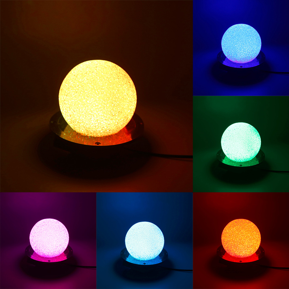 Mini RGB LED Crystal Magic Ball Stage Effect Lighting Lamp Party Disco Club DJ Bar Light Show AC220v US Plug<br><br>Aliexpress