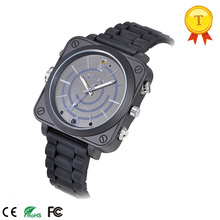 Luxury smart camera watch with WIFI HD Video 1280*720 LED Floodlight quartz style good watch clock for businessman gift