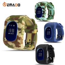 Lemado SmartWatch Child Watch Q50 2G GSM SIM Card GPRS Tracking GPS Positioning Anti-lost SOS Call Kids Watch for IOS Android(China)