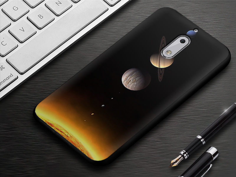 EiiMoo Phone Case For Nokia 6 Cover Silicone Capa Coque For Nokia 6 Back Cover Cute Cartoon Soft TPU For Nokia6 Case 17 64GB 13