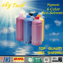 1000ML*6  Pigment Eco Solvent Ink suit for Mimaki series printer , Outdoor Advertising Ink For banners canvas etc